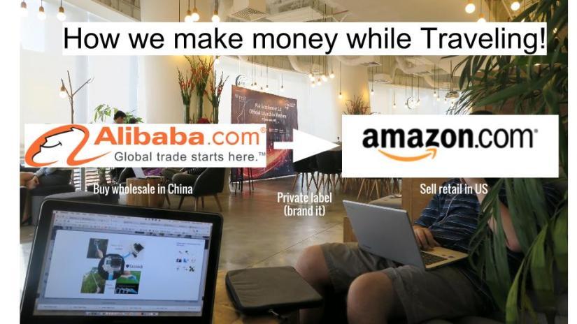 How we make money while traveling: The Amazon Method